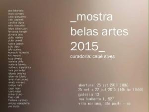Convite Mostra B.A. 2